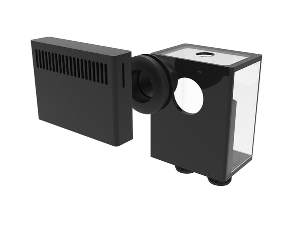 Fiji Cube Low Profile External Overflow Box 600GPH
