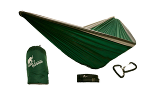 Green/Gray Double Hammock