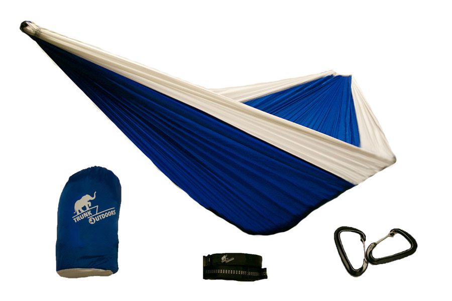 White/Blue Double Hammock
