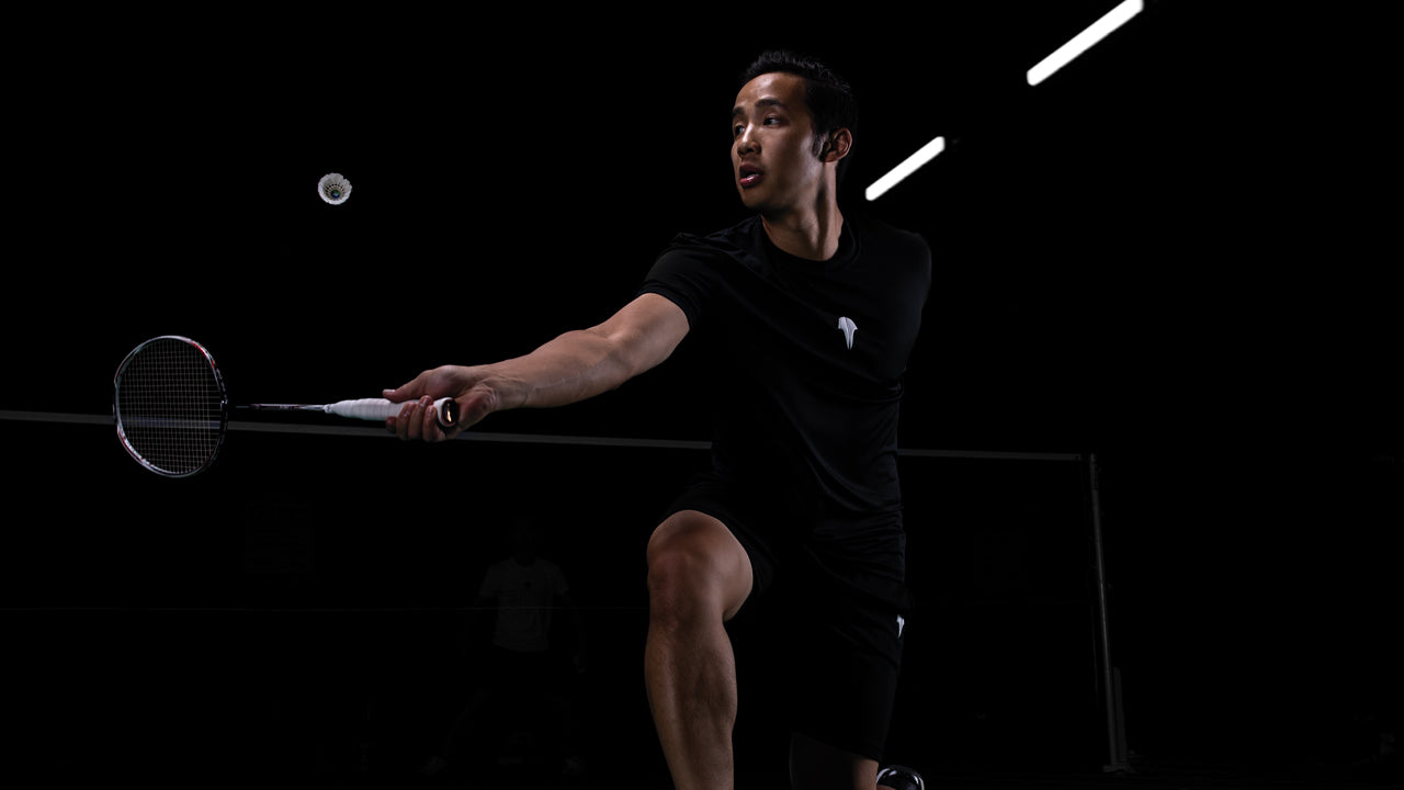 Backhand Volant Wear Badminton Activewear Cool Fashion Kento Momota Japan Badminton Player Best World Champion Performance Active Wear Lin Dan Lee Chong Wei Srikanth Kidambi Viktor Axelsen Clothing BWF Singles Champion