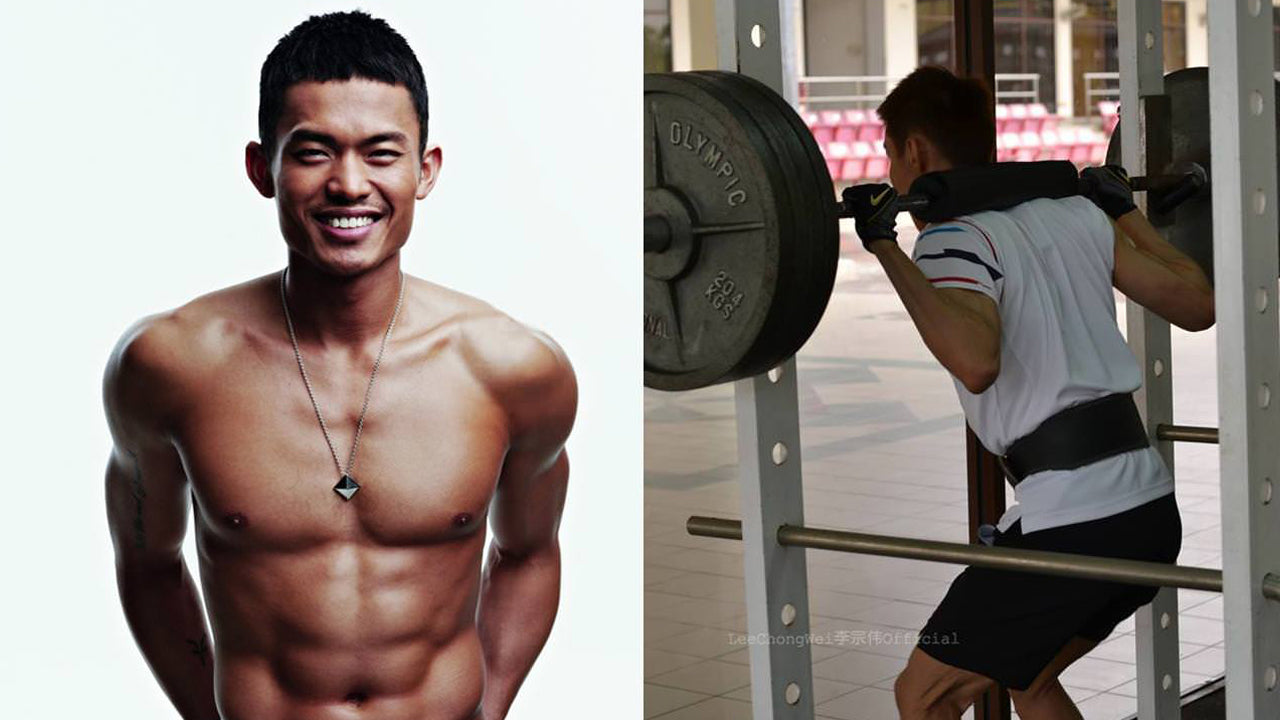 Lin Dan Strength Training Olympics Gold Badminton Podcast Volant Wear