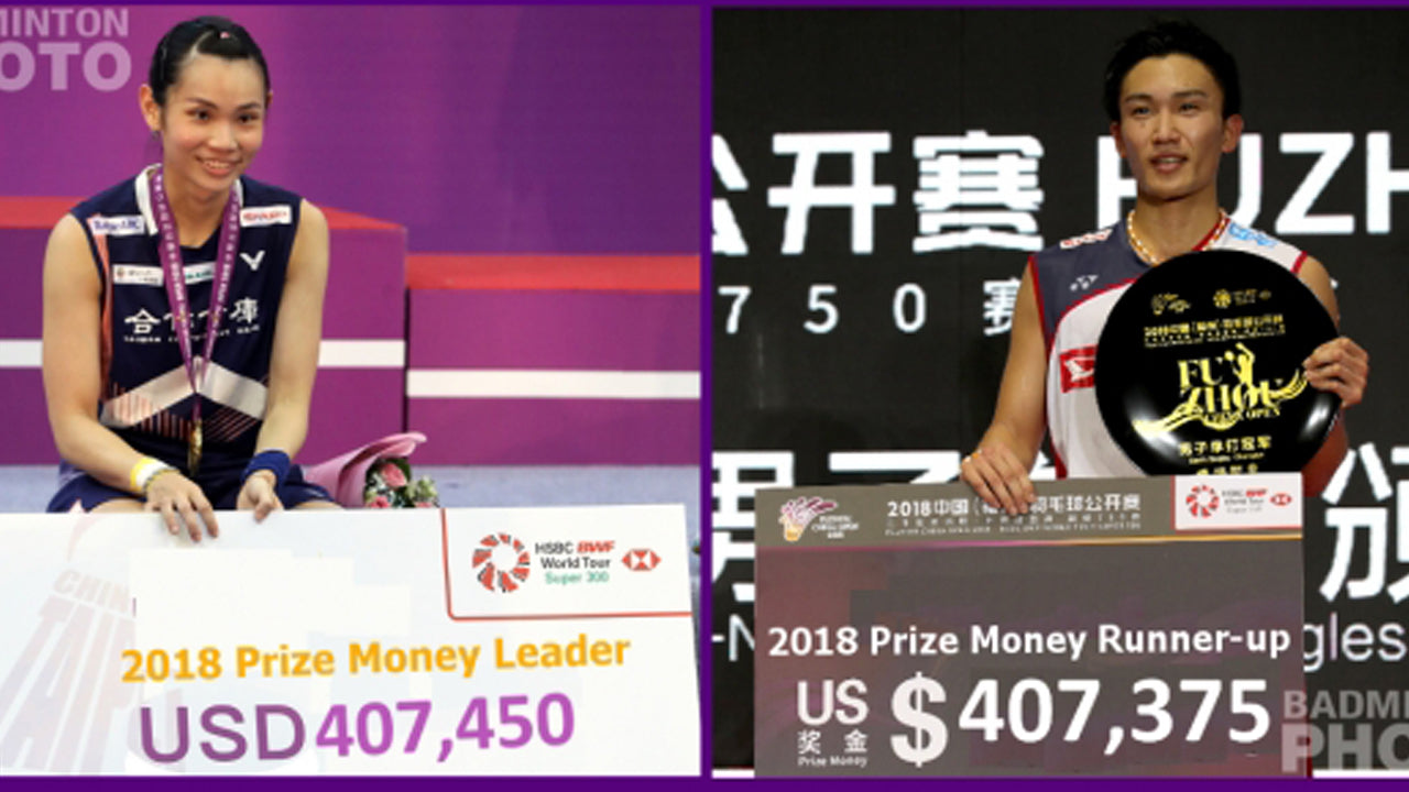 Badminton Players Prize Money and Wealth