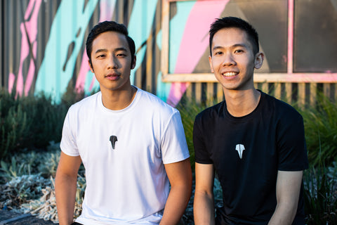 Jeffrey Tho & Henry Wong Founders of Volant Wear