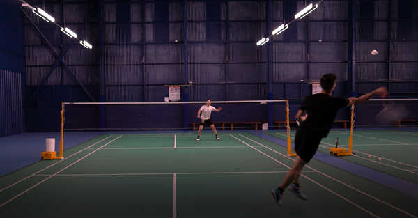 Jeff & Henry Badminton Smash