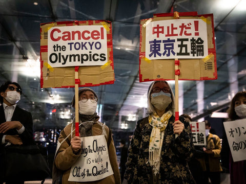 Anti-Olympic Protests in Japan