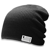 MN Slouch Knit Hat - Black
