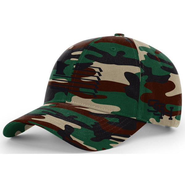 MN Flag Hat - Green Camo