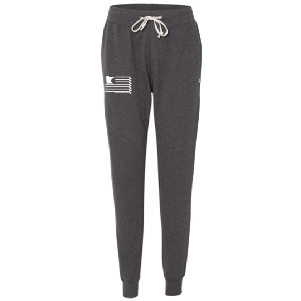 Ladies Charcoal Heather Jogger