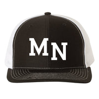 MN Hat - Black/White