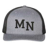 MN Hat - Heather Grey/Black