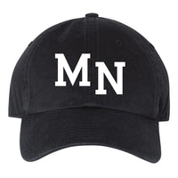 MN Washed Chino Cap - Black