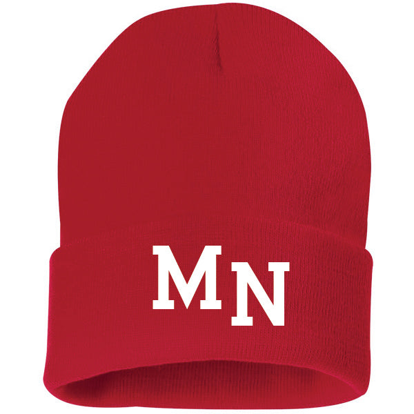 MN Knit Hat - Red