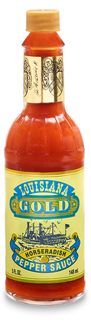 Louisiana Gold Horseradish Pepper Sauce 5 oz.