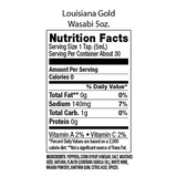 Louisiana Gold Wasabi Pepper Sauce 5 oz.