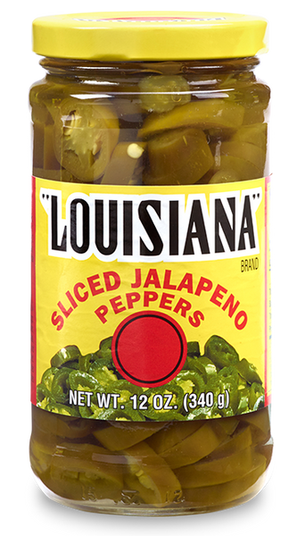 Louisiana Brand Sliced Jalapeño Peppers