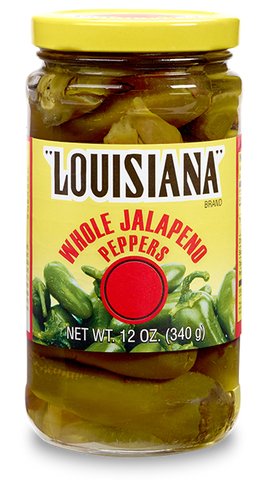 Louisiana Brand Whole Jalapeño Peppers
