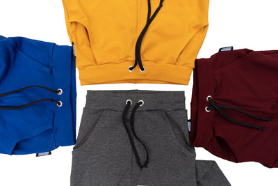 Solid color joggers