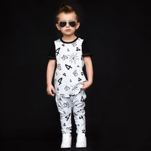 "Load image into Gallery viewer, Four ""4"" Birthday Outfit"