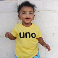 Load image into Gallery viewer, Uno Birthday T-shirt