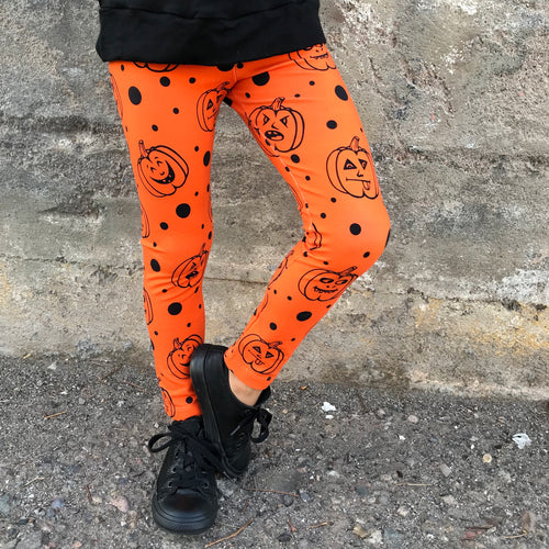 Jack-o-lantern Leggings