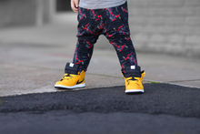 Load image into Gallery viewer, King of Hearts Harem Pants - LJ Kids Collab - RTS