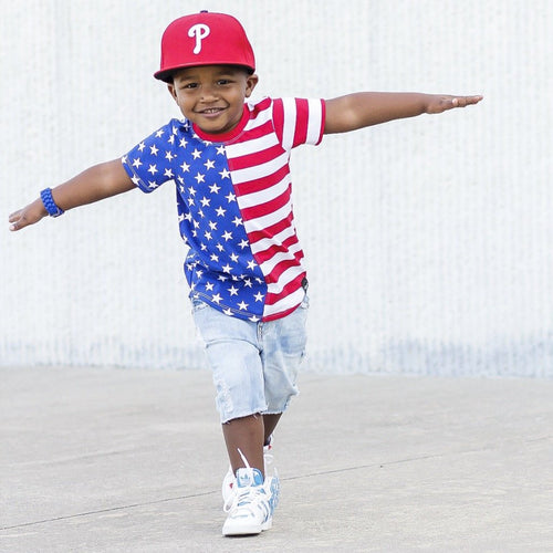 american flag shirt 4th of july top fourth of july USA kids outfit