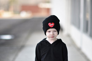 Heartbreaker Broken Heart Beanie