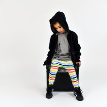 Load image into Gallery viewer, Finger Paint Rainbow Stripe Harem Pants- Made-to-Order