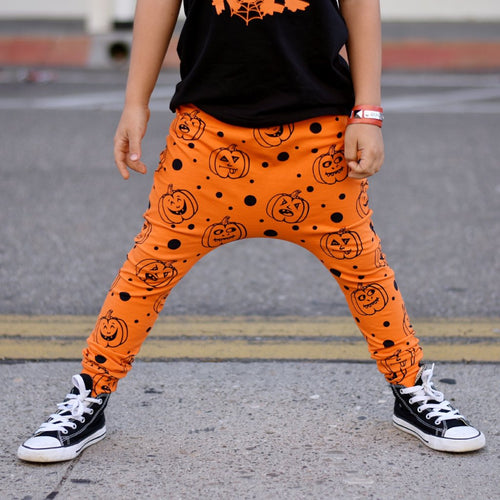 Pumpkin Harem Pants or Shorts