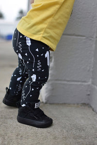 1 Balloon Birthday Leggings