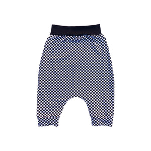 Mini Checker Harem Shorts