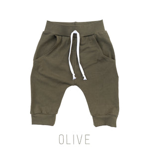 Solid Color Pocket Shorts