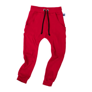 Solid Color Jogger Pants