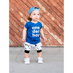 One Der Boy Birthday Outfit