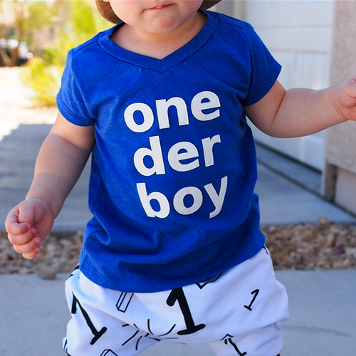 One Der Boy Tshirt