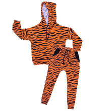 Load image into Gallery viewer, Tiger Drop Shoulder Hoodie