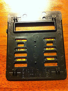 BMW E28 E30 6-Button OBC Module Face Cover Plate Genuine, On Board Computer
