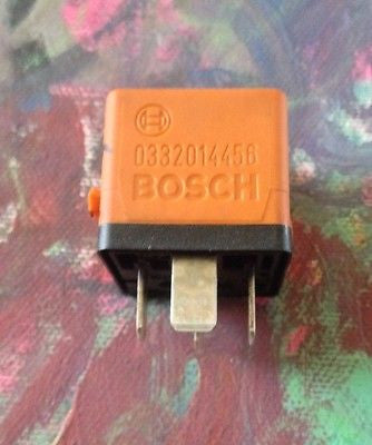BOSCH 0332014456 Orange Relay BMW E23 E24 E28 E30 E31 E32 E34 E36 E39 E46 Z3 BMW
