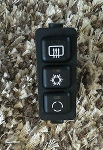 BMW E36 318ti Compact, SWITCH A/C, Rear defroster switch 61318371020