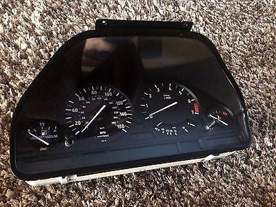1990-1995 BMW E34 5-Series Instrument Gauge Cluster Panel Speedo Tach MPH 530i