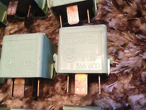BMW E36 E46 Green Multi Purpose Relay 61.36-8 366 600 Lot of 20  V23134-K59-X222