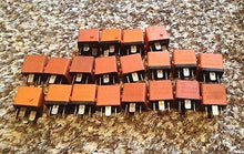 BMW E28 E30 E32 750 325 525 535 BOSCH 0332014456 Relays Lot of 20 Orange 4-Prong