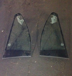 BMW E46 M3 OEM (01-06) Coupe Side Quarter Glass Window Set Pair with Motors