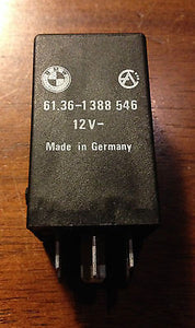 BMW Hazard Relay  61361388546  12V  61.36-1 388 546   7-pin Relay