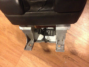 1995-2001 BMW E38 Black Leather Front Center Console Arm Rest 750iL 740il 740i