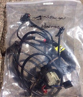 BMW E30 Passenger Door Wire Harness E30 318is 325e 1985-1993   61121385856