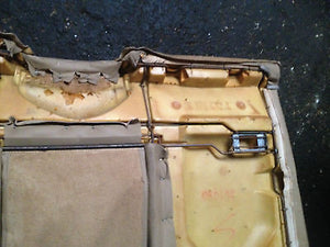 BMW E36 318ic 325ic 328ic 323ic M3 Convertible Beige Tan Rear Seat Back