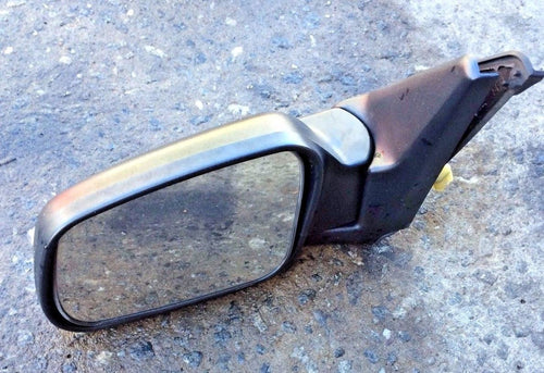 03-04 LAND ROVER DISCOVERY DRIVER SIDE POWER DOOR MIRROR BLACK TEXTURE OEM
