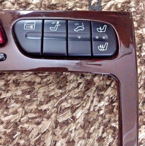 01-04 Mercedes W203 C320 A/C Heater Climate Control Unit + Hazard + Seat Switch