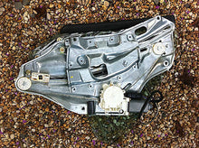 BMW E36 M3 Convertible Right Rear Window Regulator w Glass 318iC 325iC 328iC